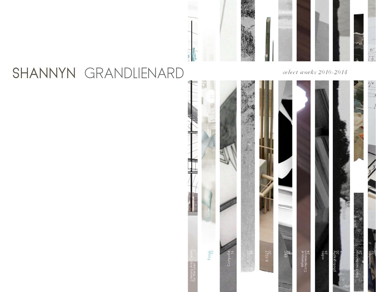 Shannyn grandlienard interior design portfolio by shannyn Fit interior design portfolio