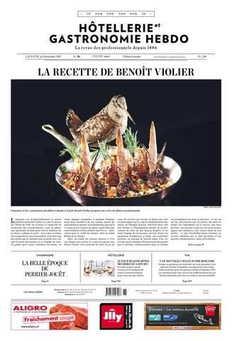 HetG Hebdo 36 2013 By Hotellerie Gastronomie Verlag