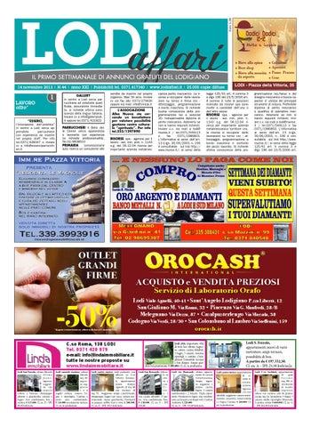 Lodi Affari 14 Novembre by Lodi Affari - issuu d35487ac92a