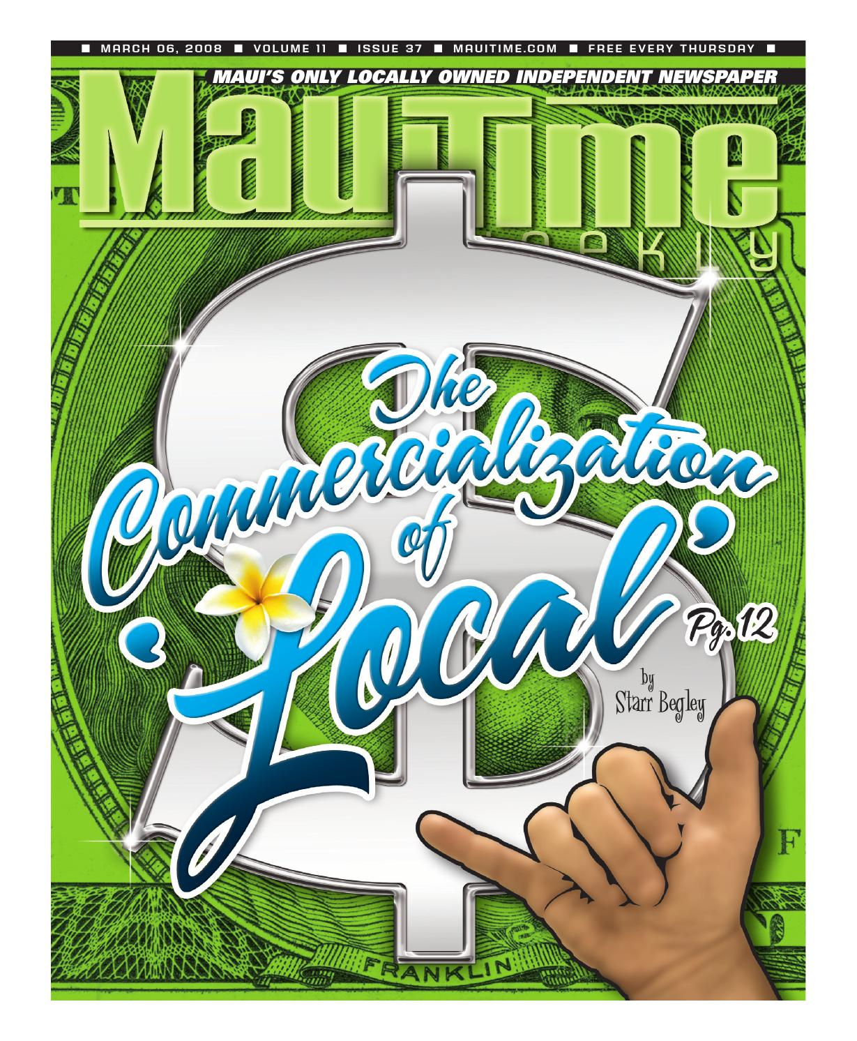 11.37 The Commercialization Of Local, March 6, 2008, Volume 11 ...