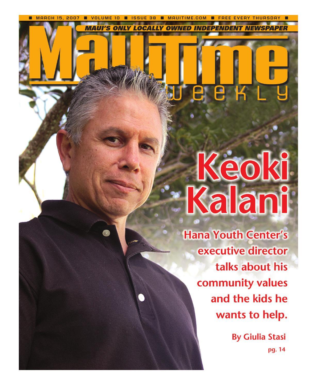 Jim Falk Motors >> 10.38 Keoki Kalani, March 15, 2007, Volume 10, Issue 38 ...