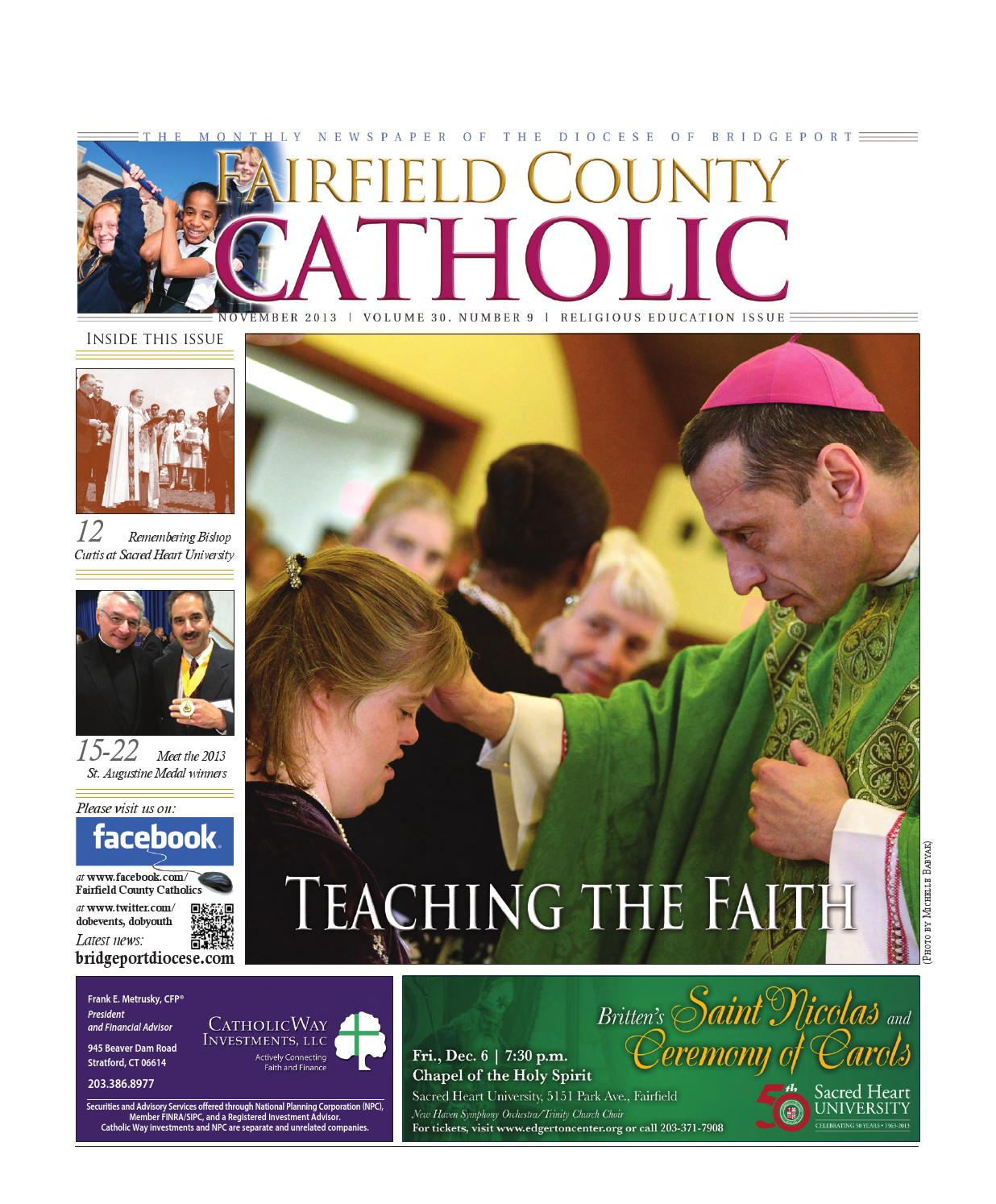 fairfield county catholic singles All opportunities show filters for graduates of lancaster high school or fisher catholic high school to pursue a in 2005 for residents of fairfield county.