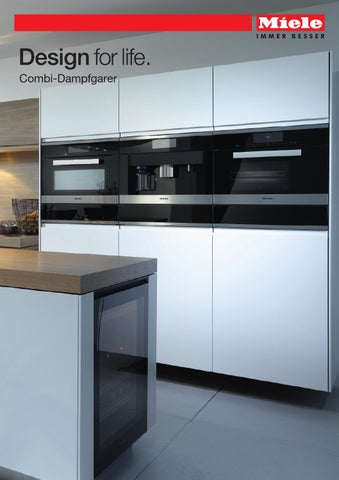 miele produktkatalog combi dampfgarer ch de by miele issuu. Black Bedroom Furniture Sets. Home Design Ideas