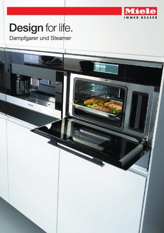miele produktkatalog dampfgarer und steamer ch de by miele issuu. Black Bedroom Furniture Sets. Home Design Ideas
