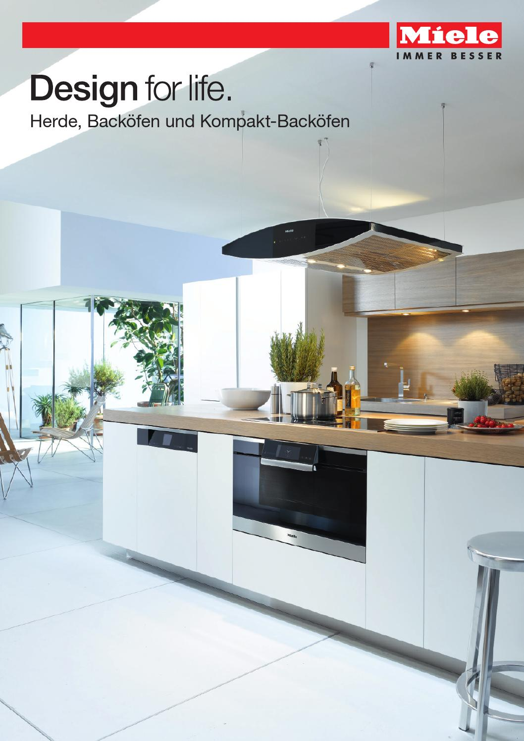 miele produktkatalog herde back fen und kompakt back fen ch de by miele issuu. Black Bedroom Furniture Sets. Home Design Ideas