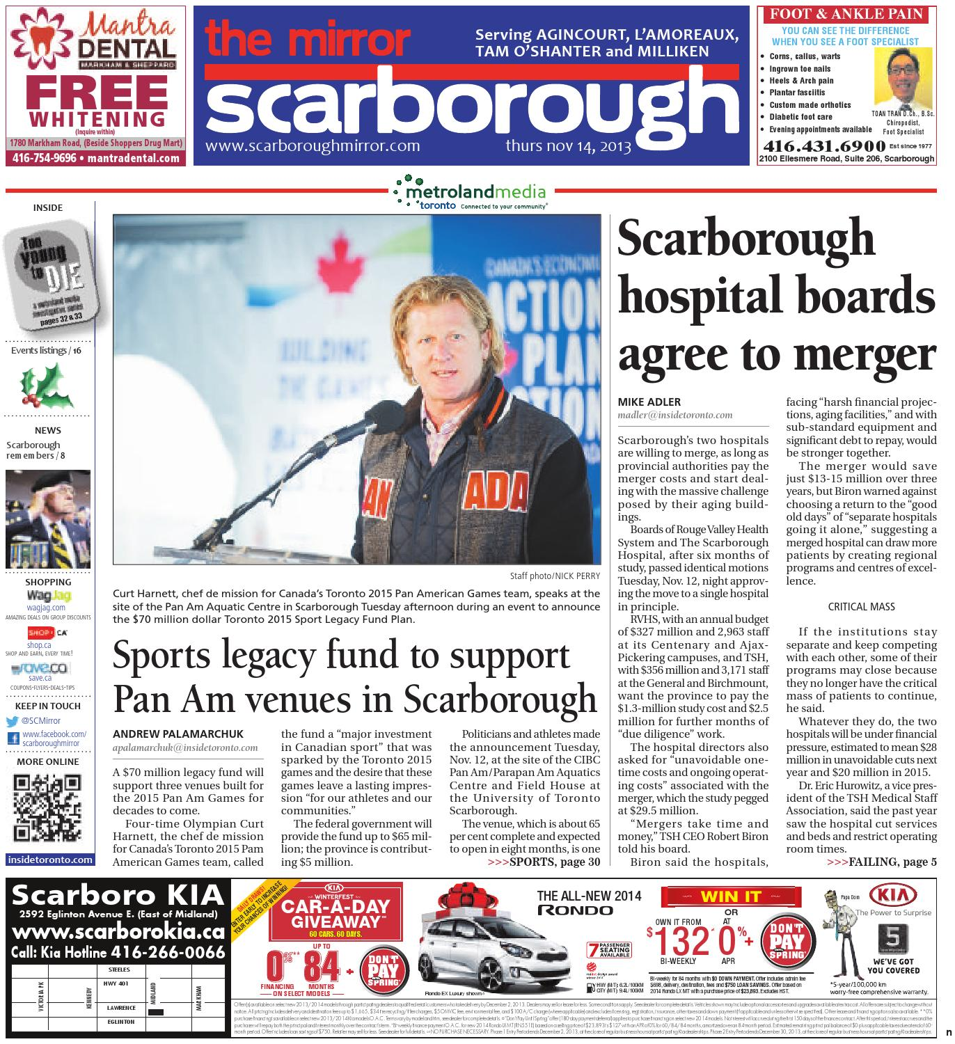 November 14 North by The Scarborough Mirror - issuu