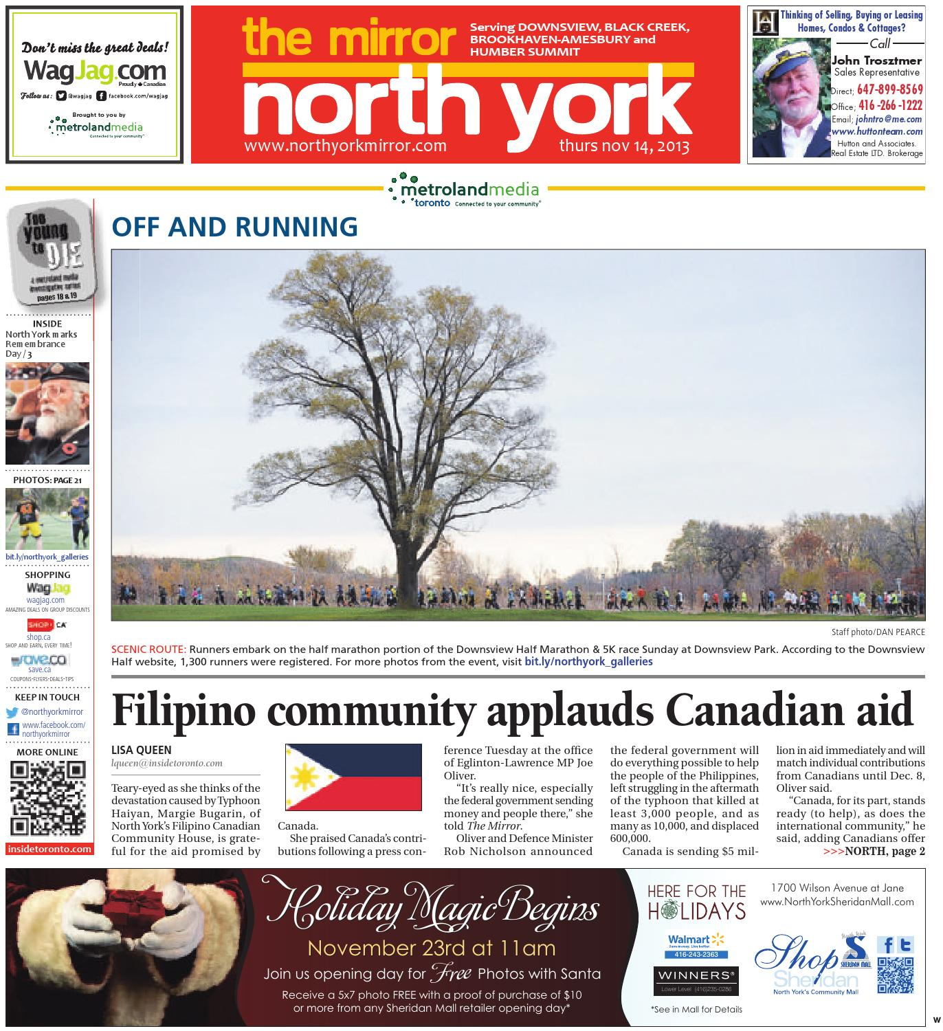 November 14 West By The North York Mirror Issuu An Electrical Shaver Point How To Fit A Shaving Socket Diy Doctor