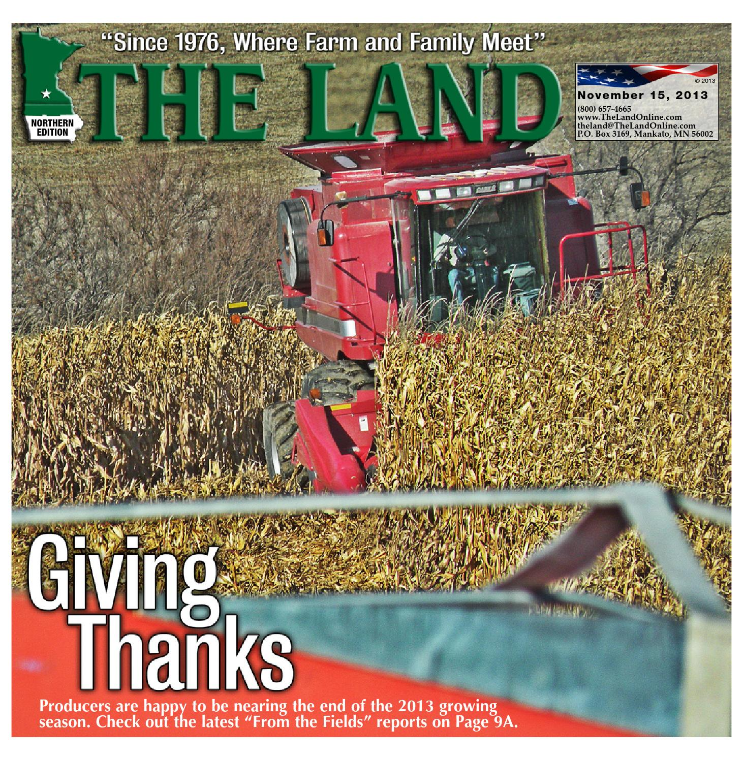 The Land Nov 15 2013 Northern Edition By Issuu 9380 Cih Tractor Wiring Diagram