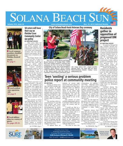 Solana Beach 11 14 13 By MainStreet Media