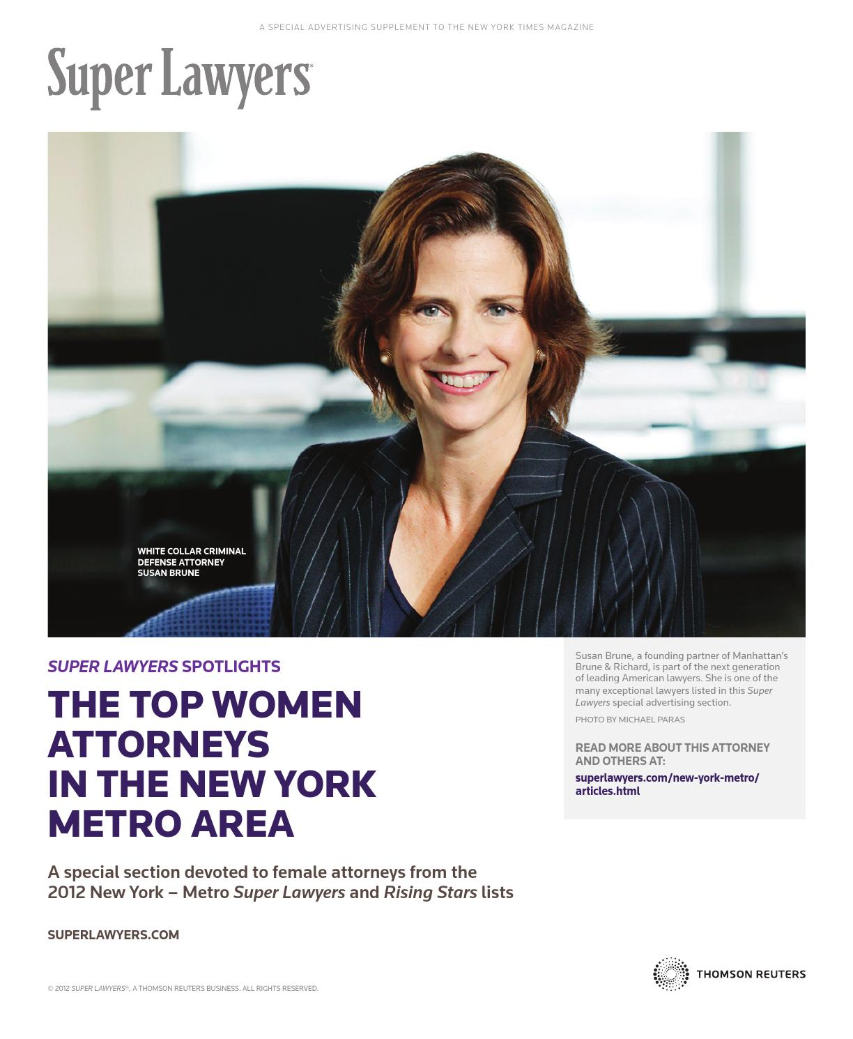 The Top Women Attorneys in the New York Metro Area by ...