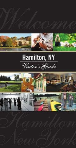 Hamilton Ny Visitor S Guide