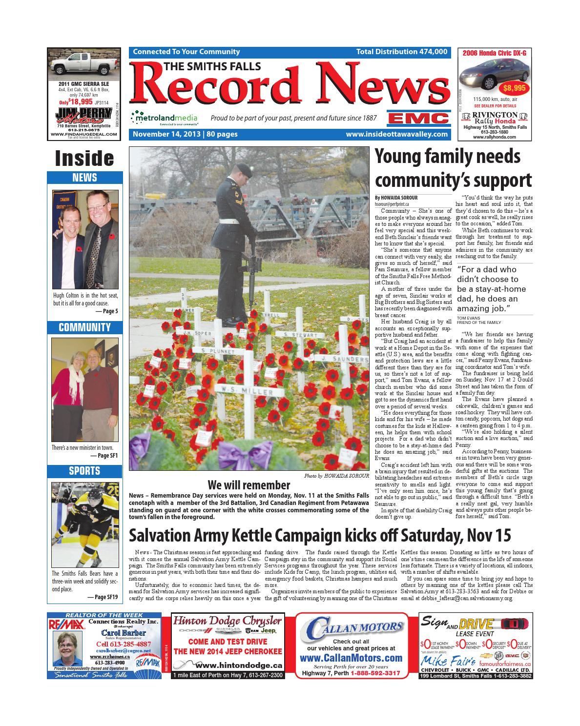 Smithsfalls111413 by metroland east smiths falls record news issuu fandeluxe Gallery