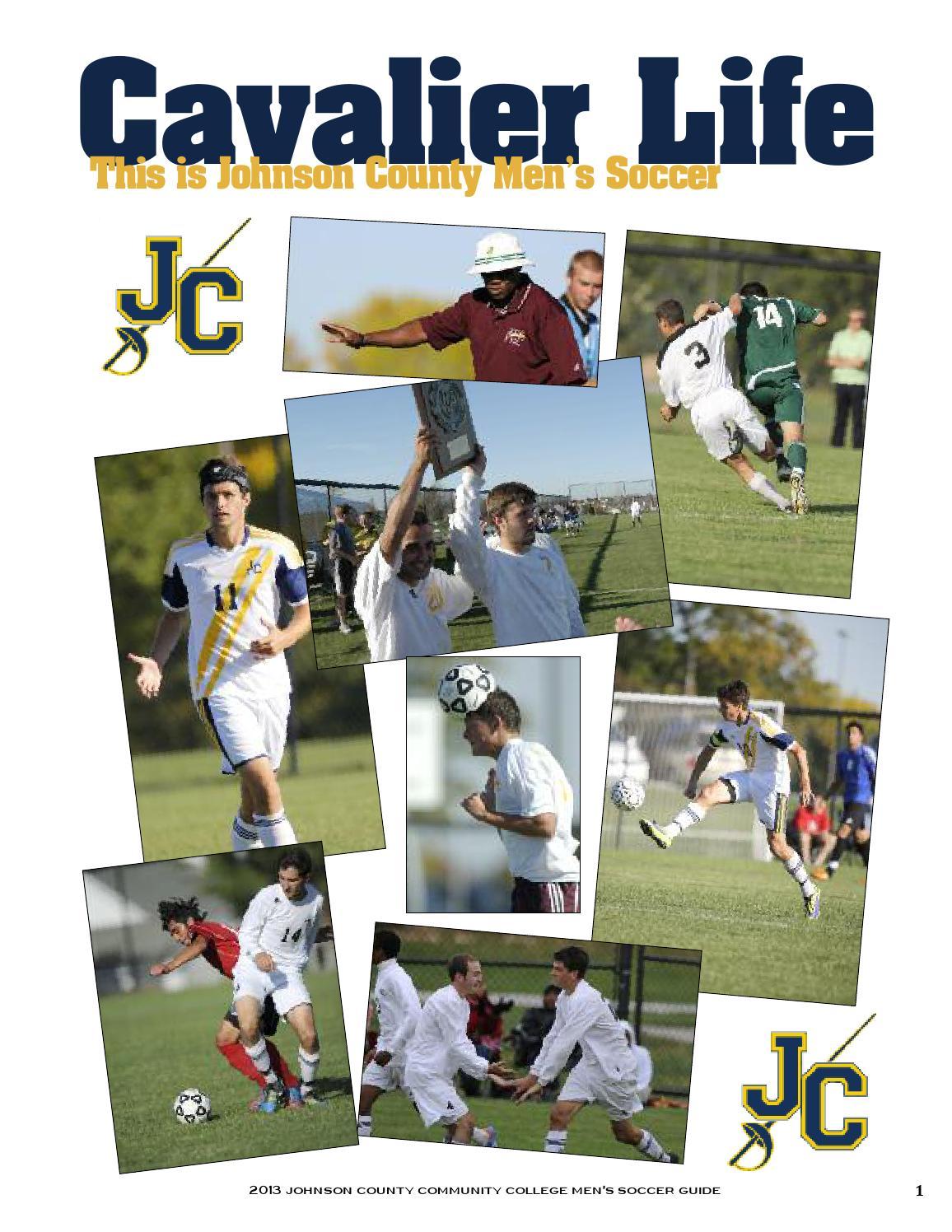 JCCC Men's Soccer Media Guide Fall 201314mens soccer