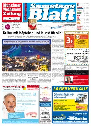 KW 46 2013 by Wochenanzeiger Me n GmbH issuu