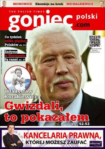 8a24004af629ad Goniec Polski, wydanie 15 listopada by Goniec Polski - issuu