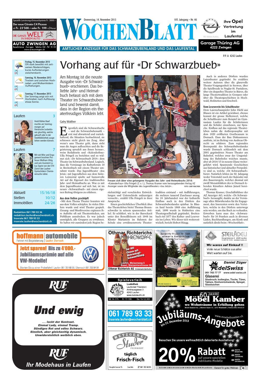 20131114 woz wosanz slim by AZ-Anzeiger - issuu