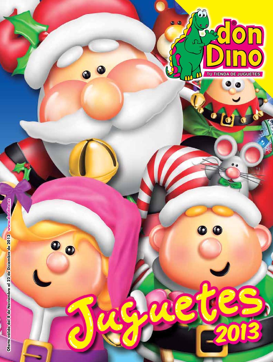 Catalogo Navidad 2013 Juguetes Don Dino by Inesferis Sistemas de ...
