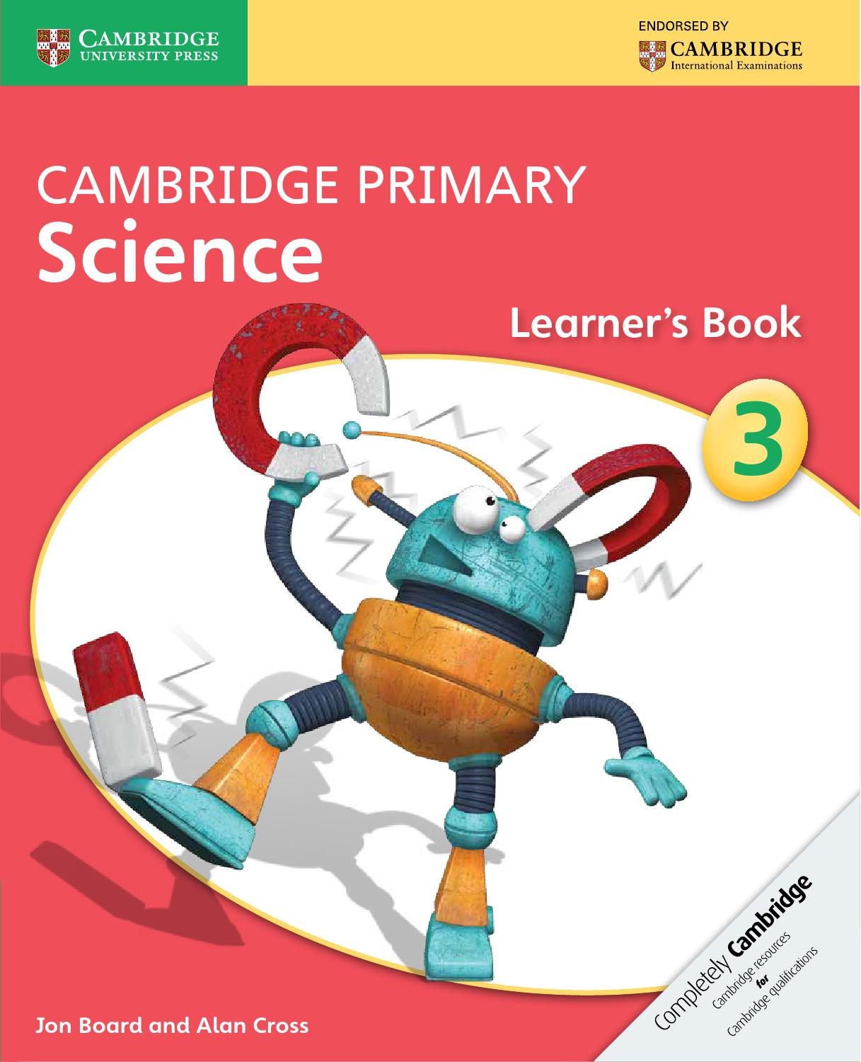 cambridge science primary learner stage international english board jon paperback examin cr learners books paperbac secondary aksorn