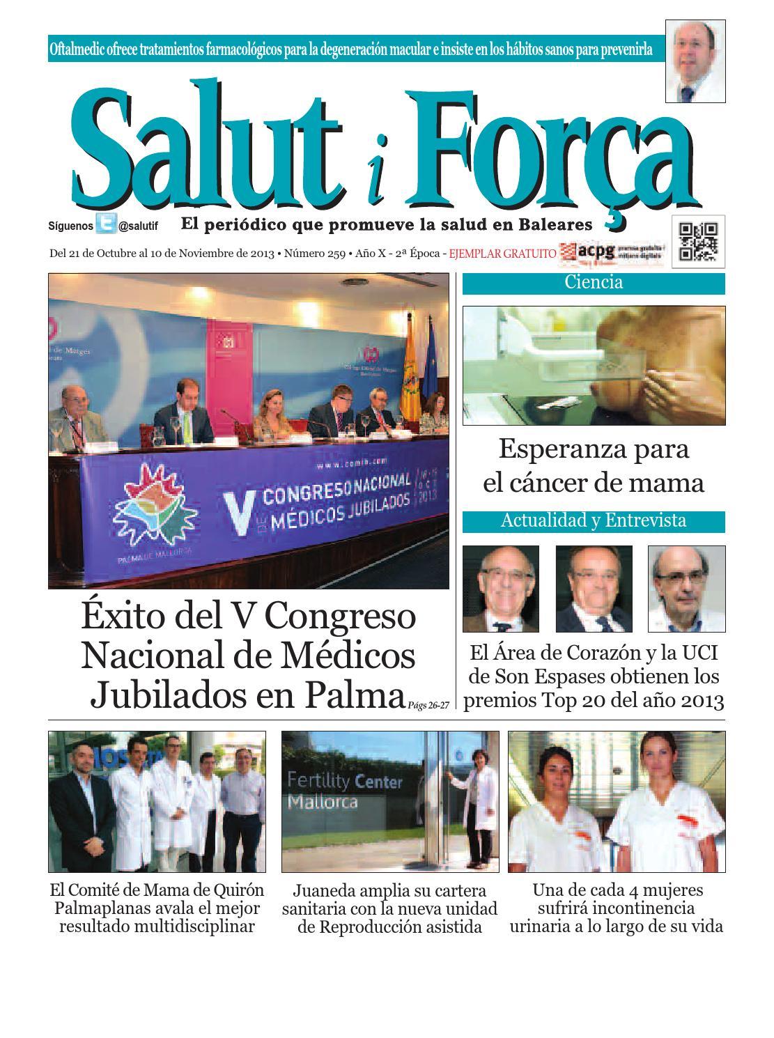 259 Salut i Forca Baleares by Salud Ediciones - issuu
