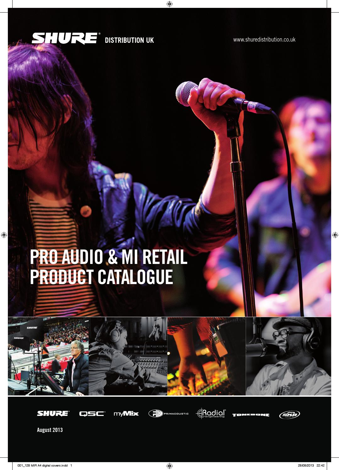 Sduk mi pro audio catalogue by shure distribution issuu