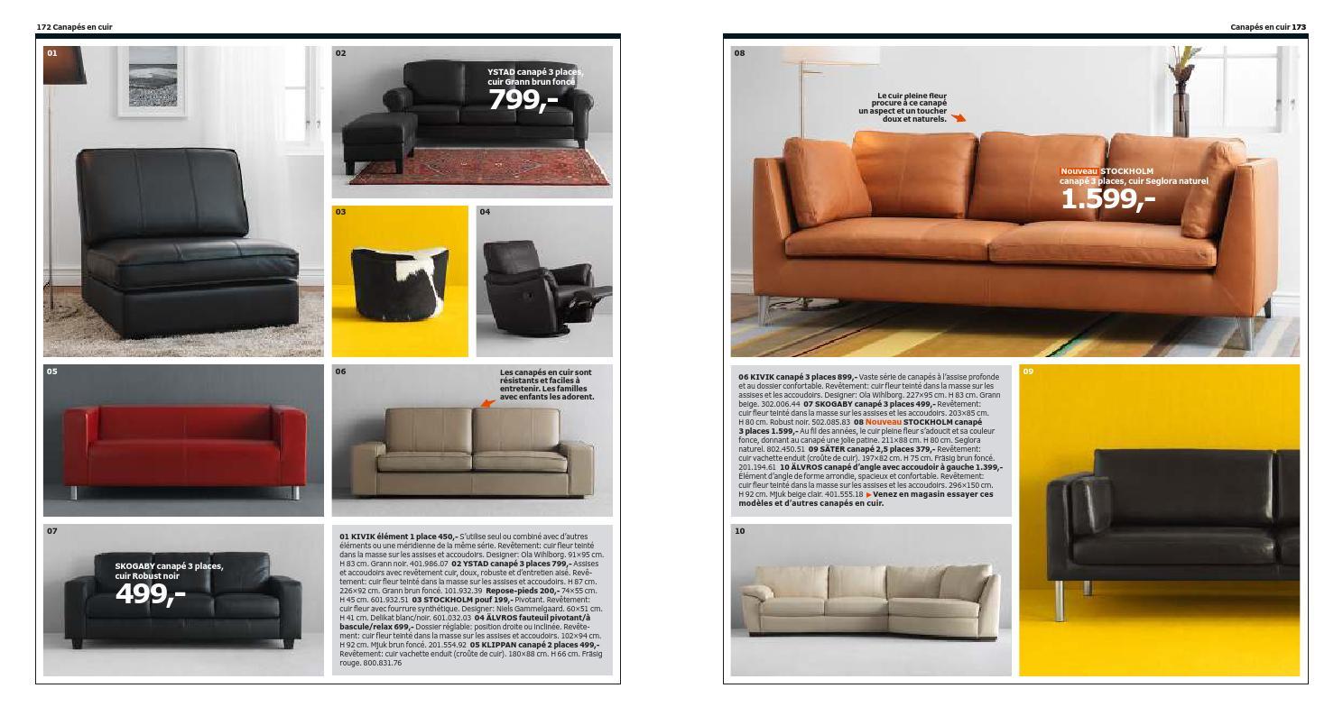 Entretenir Canape En Cuir catalogue ikea meubles 2014 fr completeadclick bvba - issuu