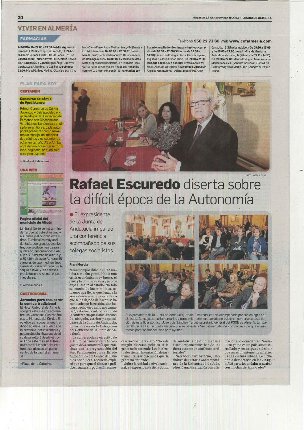 Dossier de prensa discapacidad del 13 al 15 de noviembre de 2013 by ...