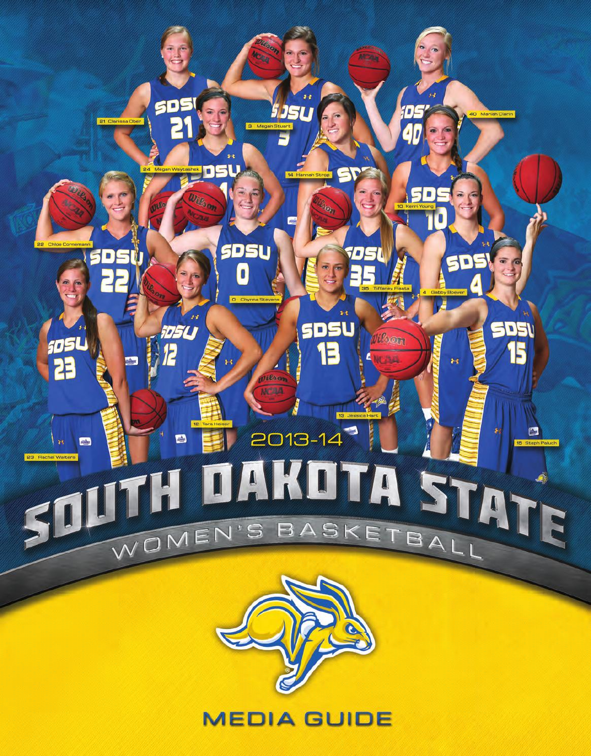 wbb media guide 13 14 by south dakota state university athletics