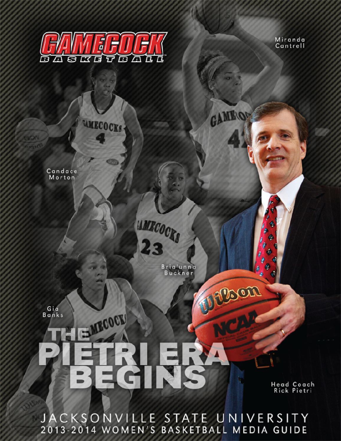 2013-14 Jacksonville State Women's Basketball Media Guide