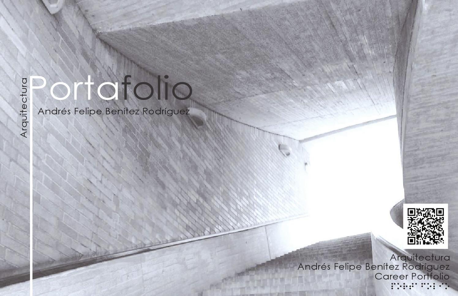 Portafolio arquitectura by andr s felipe ben tez rodr guez for Portafolio arquitectura