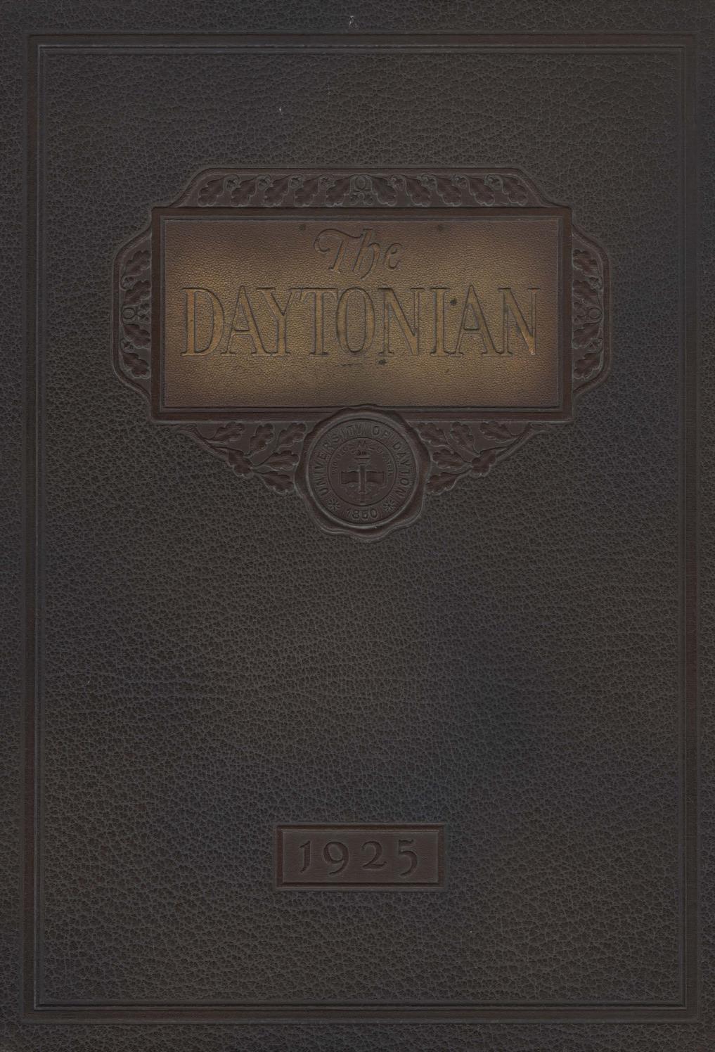 7b28c4339d Daytonian 1925 by eCommons - issuu