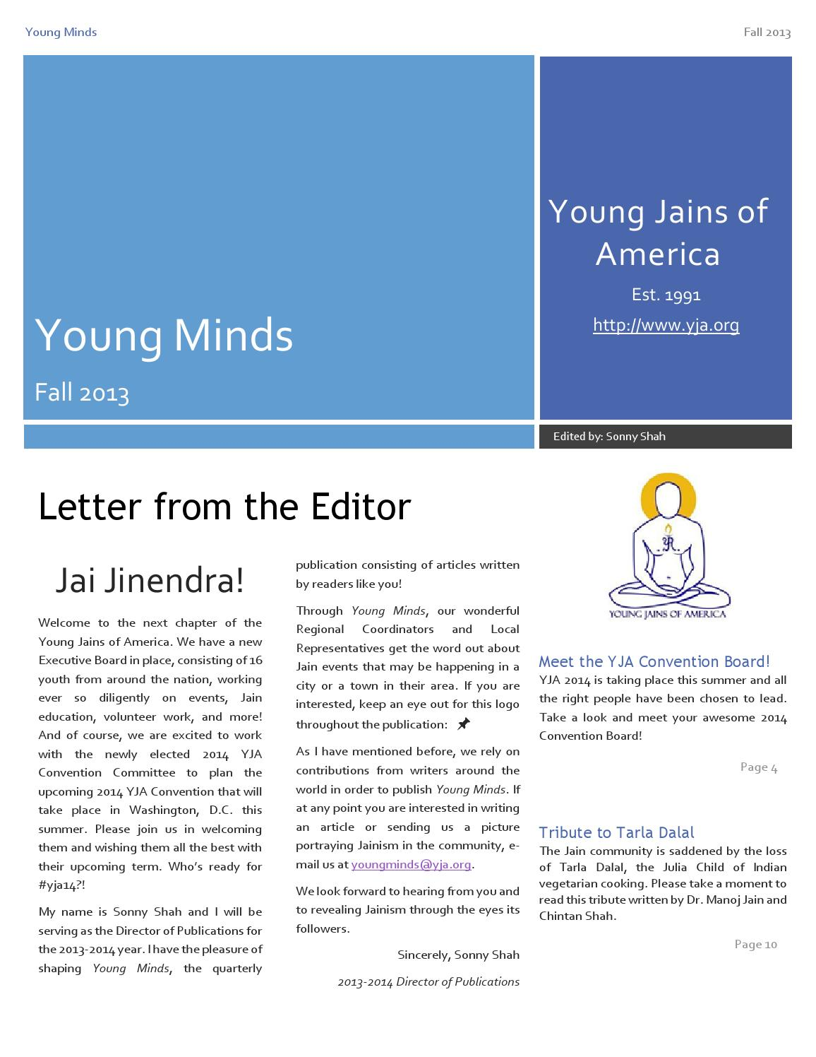 November 2013 by Young Jains of America - issuu