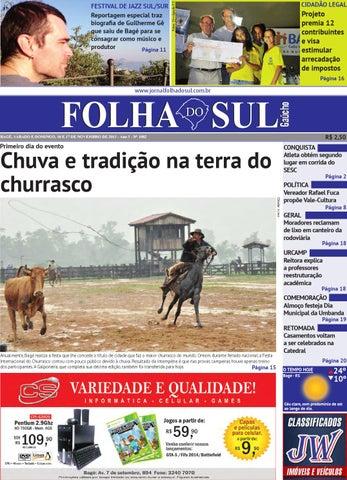 Folha do Sul Gaúcho Ed. 1082 (16 11 2013) by Folha do Sul Gaúcho - issuu 031a0a57cd2