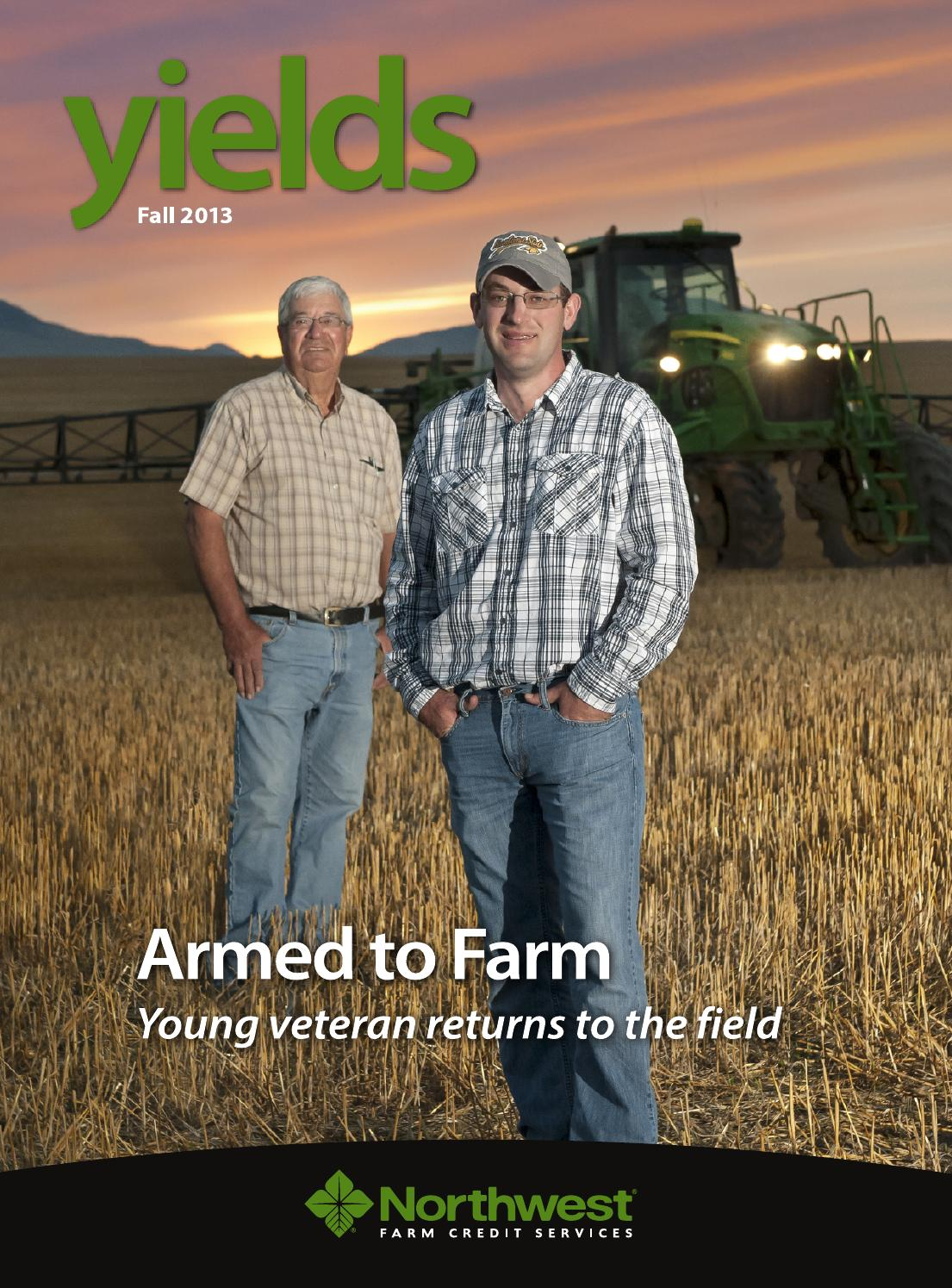 Homeowners Insurance Company >> Northwest FCS Yields - Armed to Farm - Fall 2013 by ...