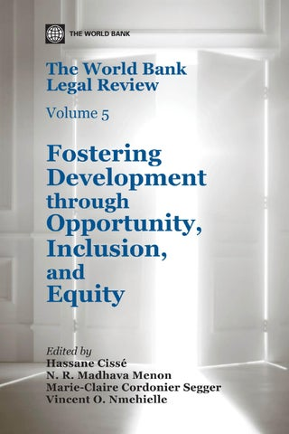 The world bank legal review volume 5 part 1 by world bank the world bank legal review volume 5 fostering development through opportunity inclusion and equity fandeluxe Image collections
