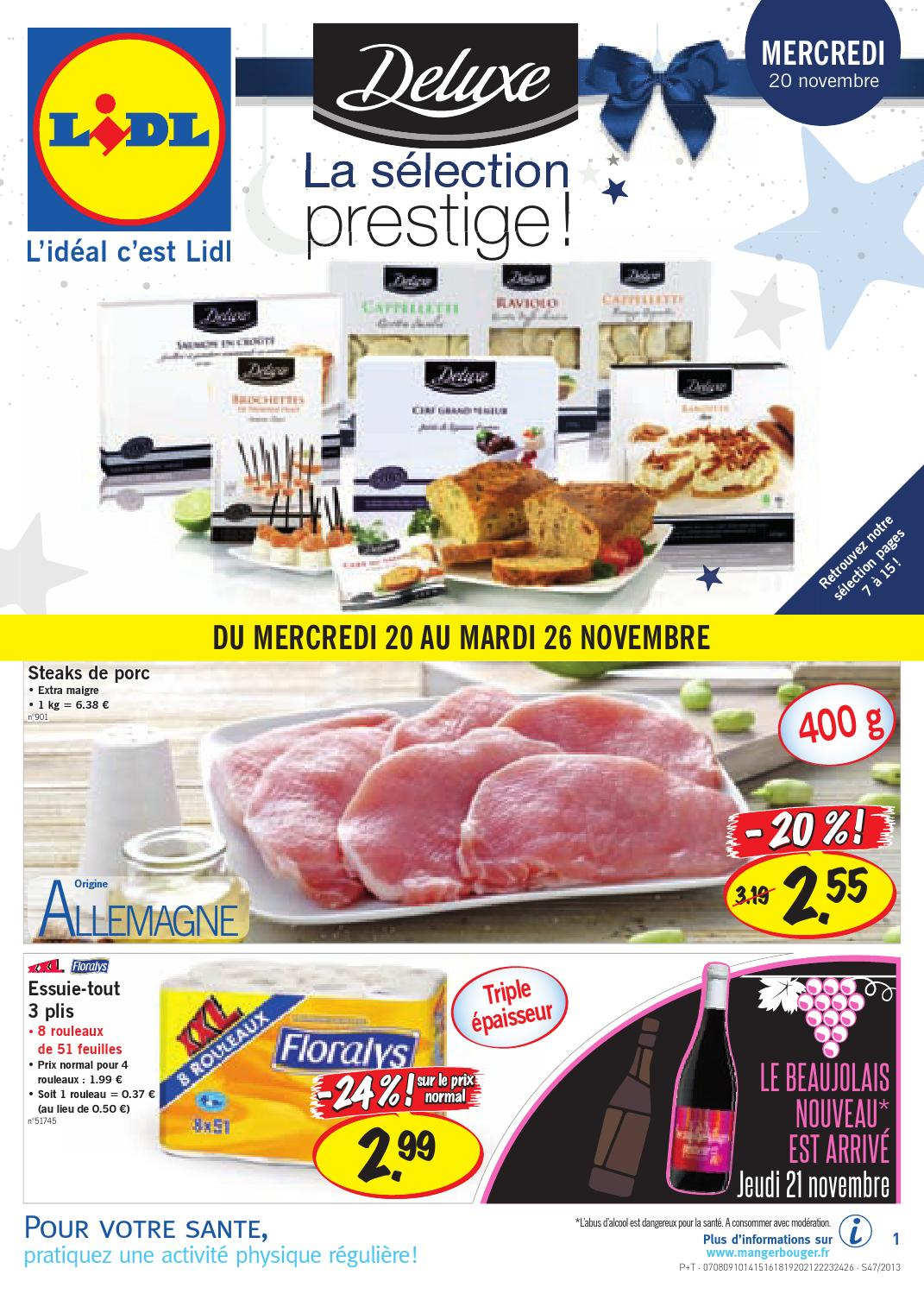 Catalogue lidl 20 by joe monroe issuu - Tollens prix au litre ...