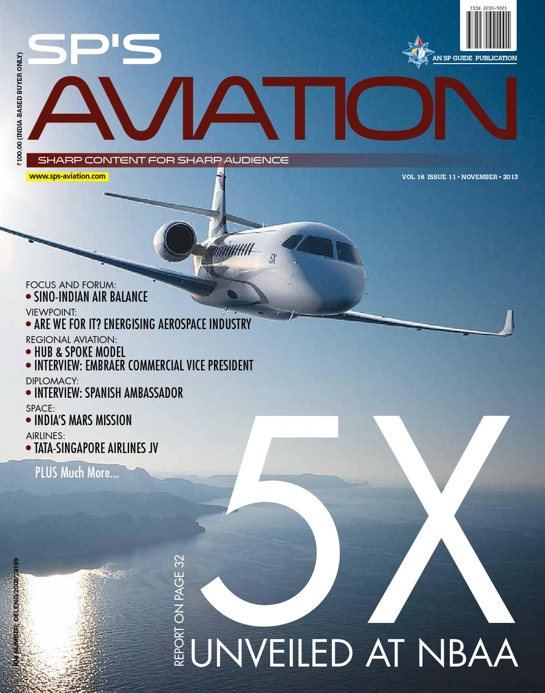 SP S Aviation November 2013 By SP Guide Publications Pvt Ltd