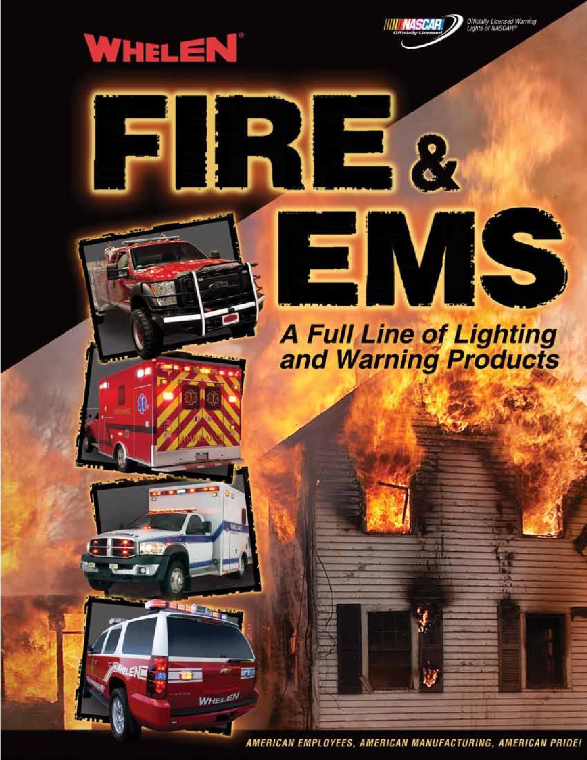 Fire Ems Catalog By Smiles Issuu Change Whelen Siren Tones