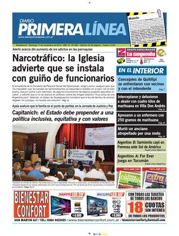 Primera Línea 3967 17 11 13 by Diario Primera Linea - issuu a35e97824767