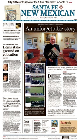The Santa Fe New Mexican, Nov. 17, 2013 by The New Mexican