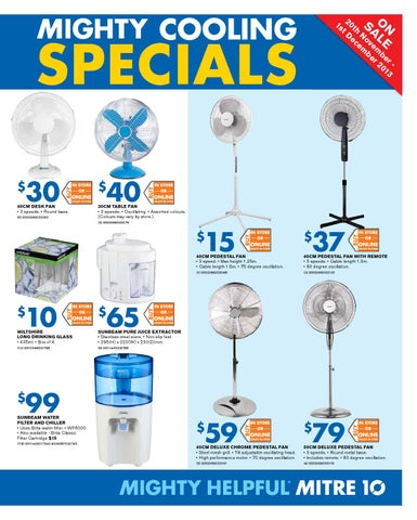 Mitre10 Catalogue Mighty Cooling Specials By Echo Publications Issuu