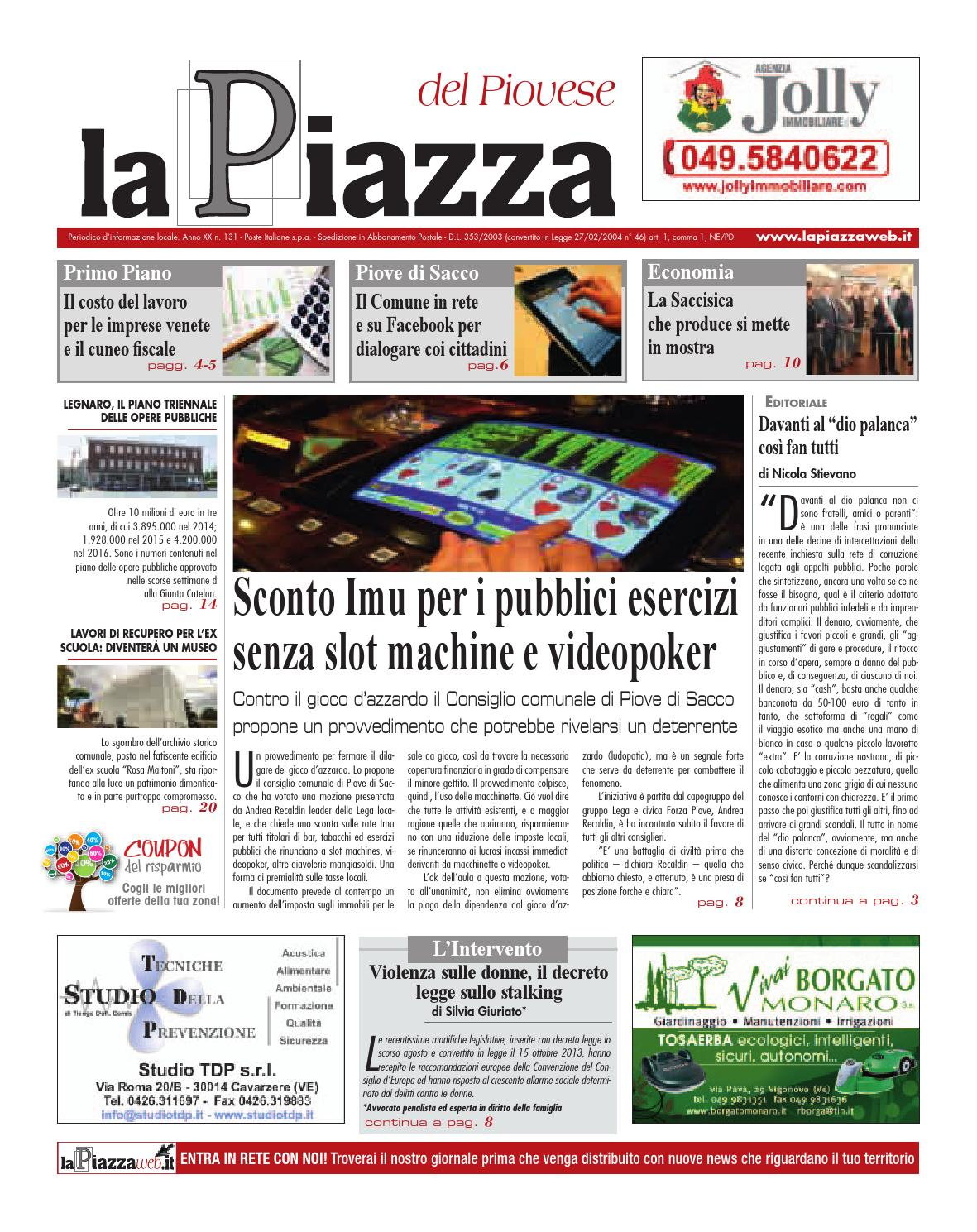 Piovese ott2013 n131 by lapiazza give emotions - issuu a0a1ea59843