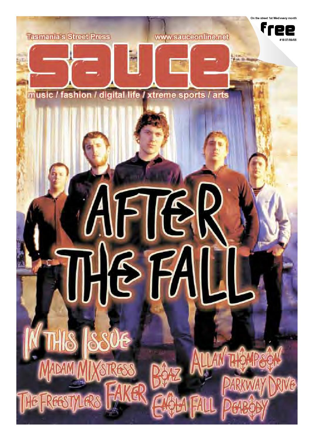 Sauce - Issue 18, 07-09-05 by David K Q Williams - issuu