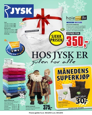 Nytt Jysk tom 30november by Postkassereklame.no - issuu IU-19