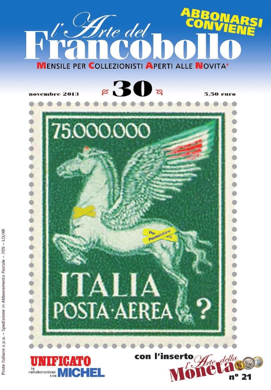 1824e95457 L'Arte del francobollo - novembre2013 by UNIFICATO C.I.F. srl - issuu
