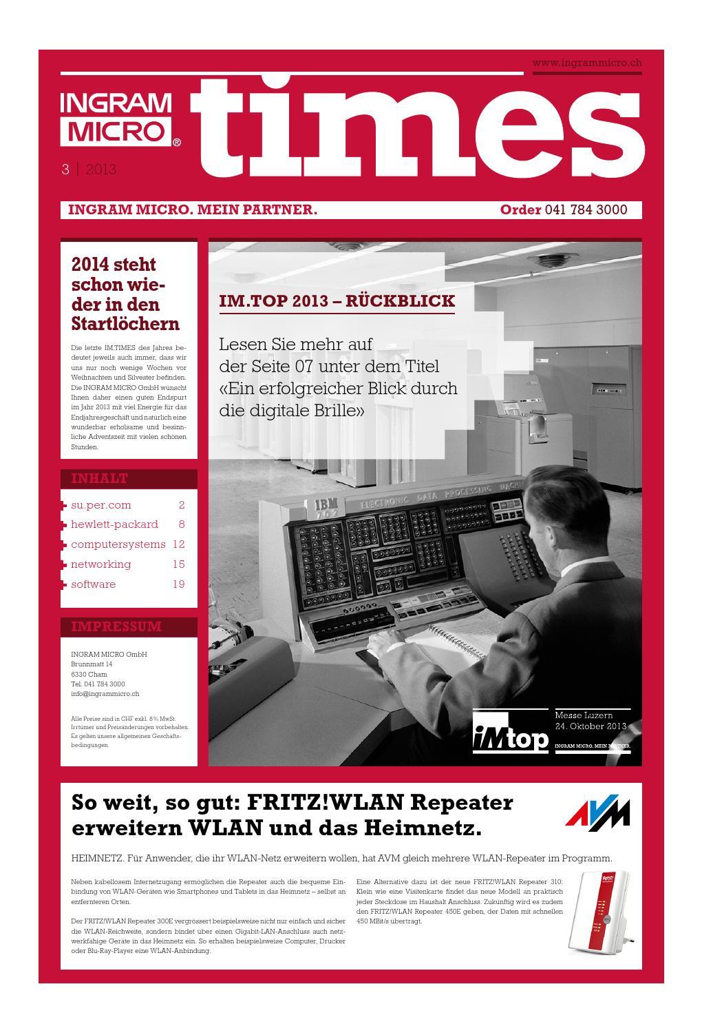 IM.TIMES III/2013 by INGRAM MICRO GmbH - issuu