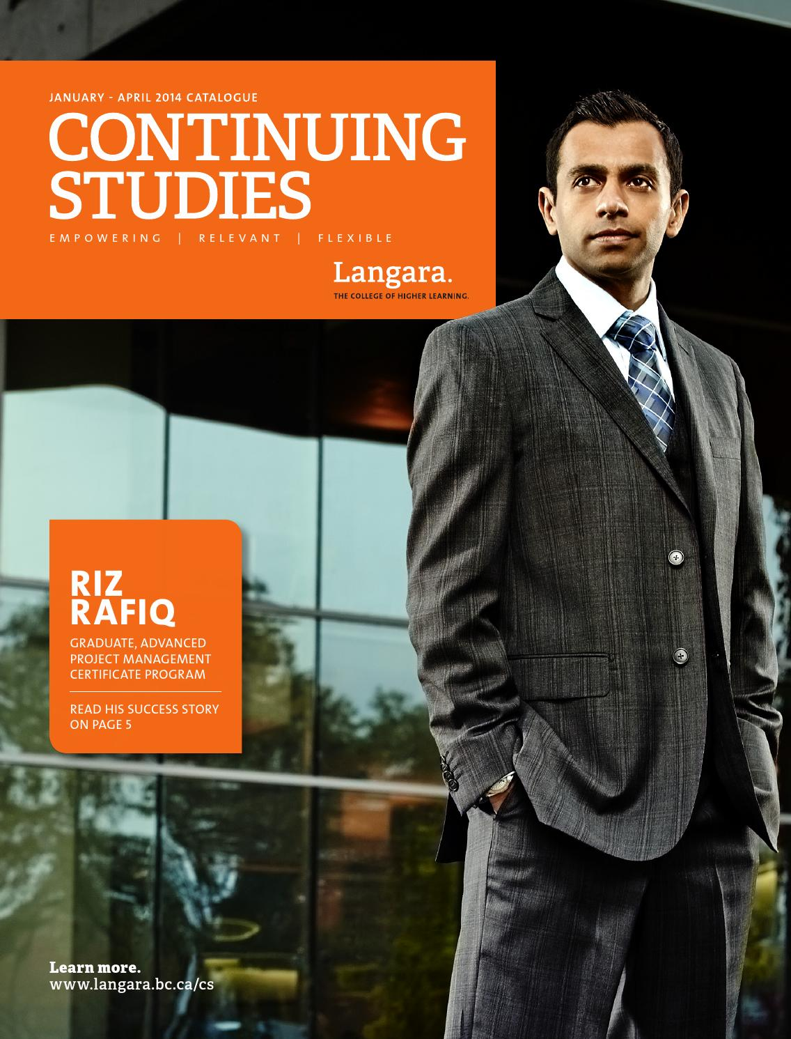 Continuing Studies Spring 2014 Catalogue By Langara College Issuu Ecen 1400 Intro To Digital Analog Electronics Lab 5