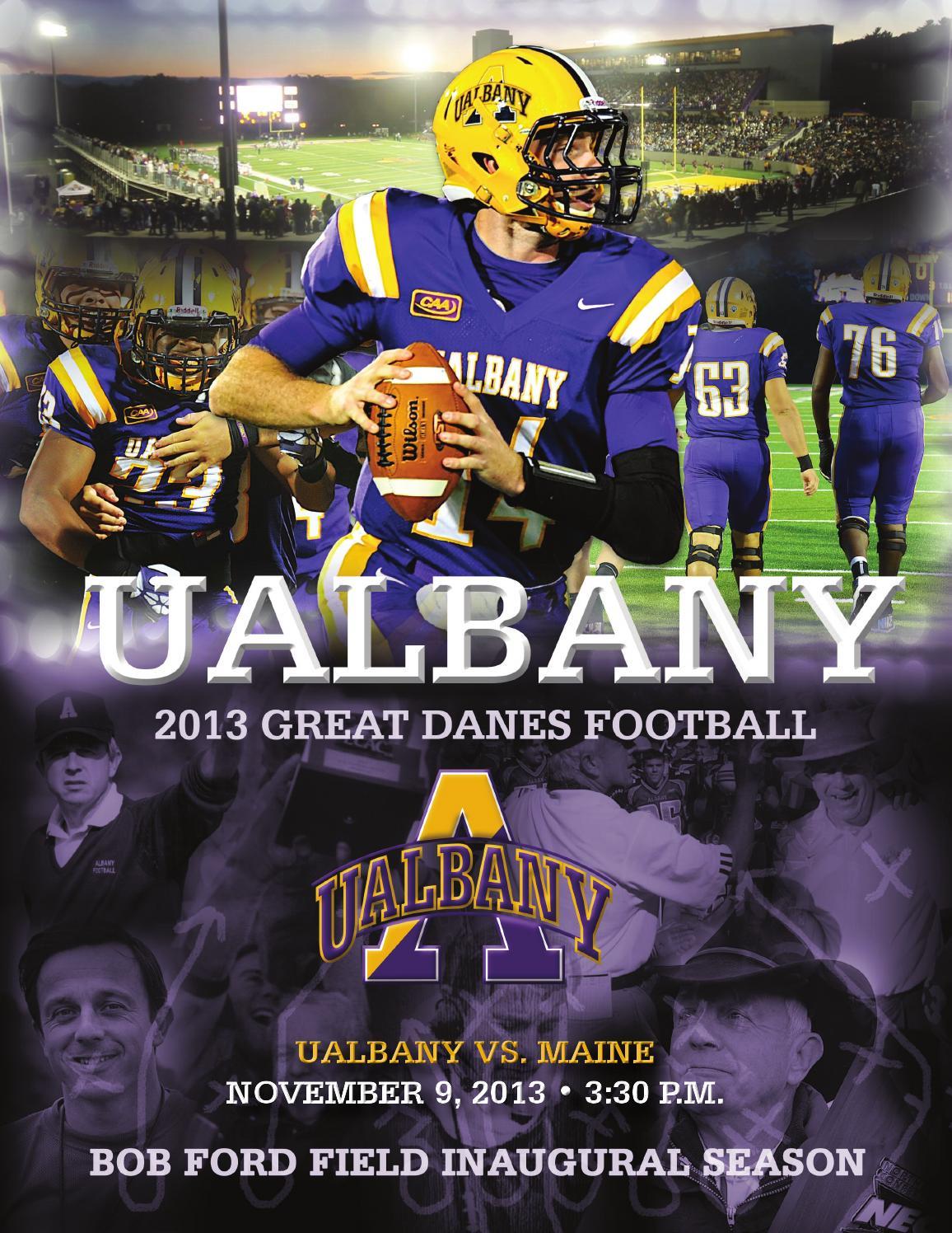 f00144bc4 UAlbany Football Game Program - Maine by UAlbany Athletics - issuu