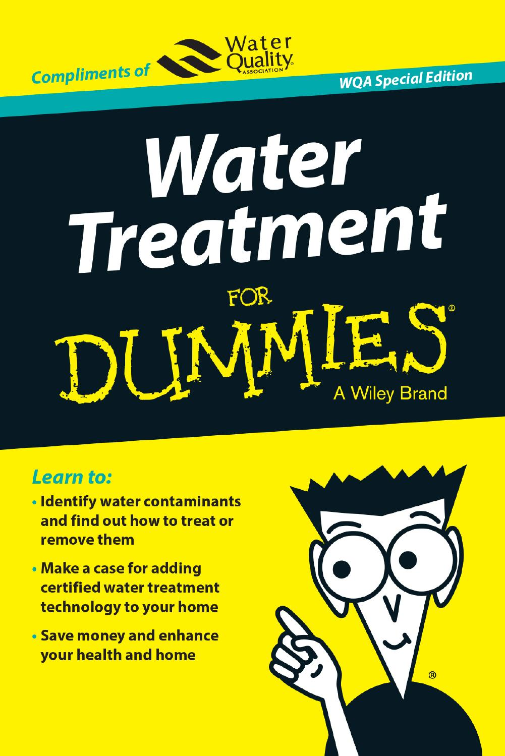 Water treatment for dummies by water quality association issuu 1betcityfo Image collections