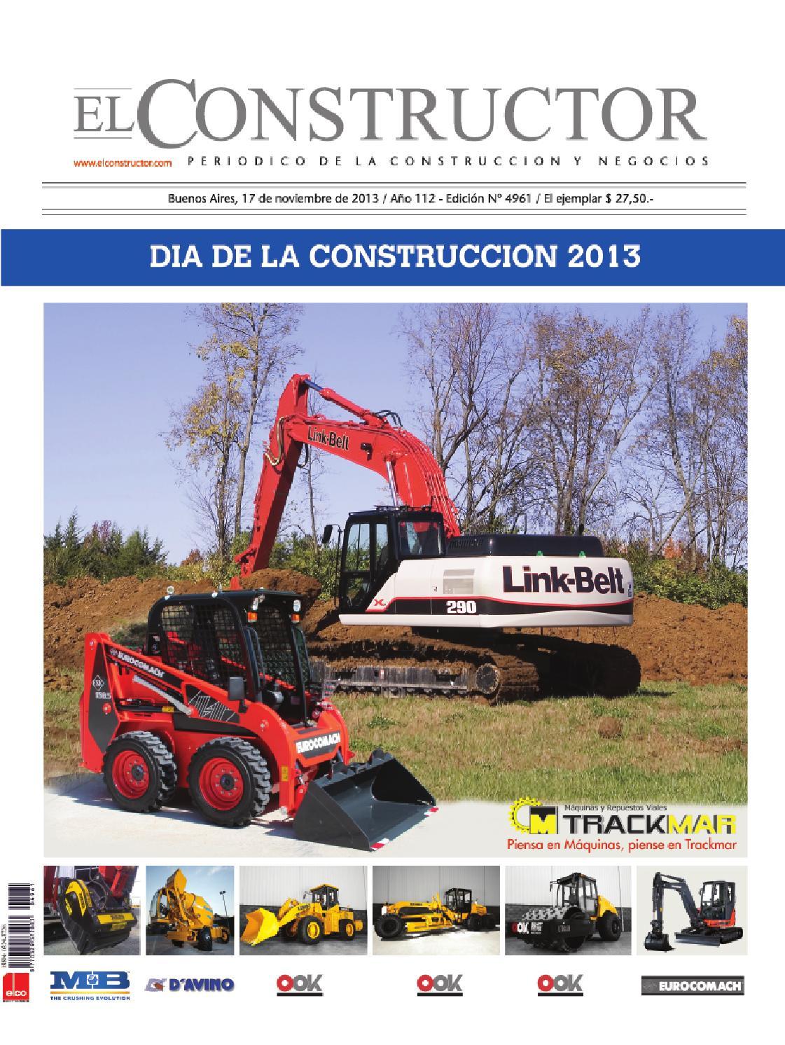 El Constructor 17/11/2013 - Dia de la Construccion 2013 by ELCO ...
