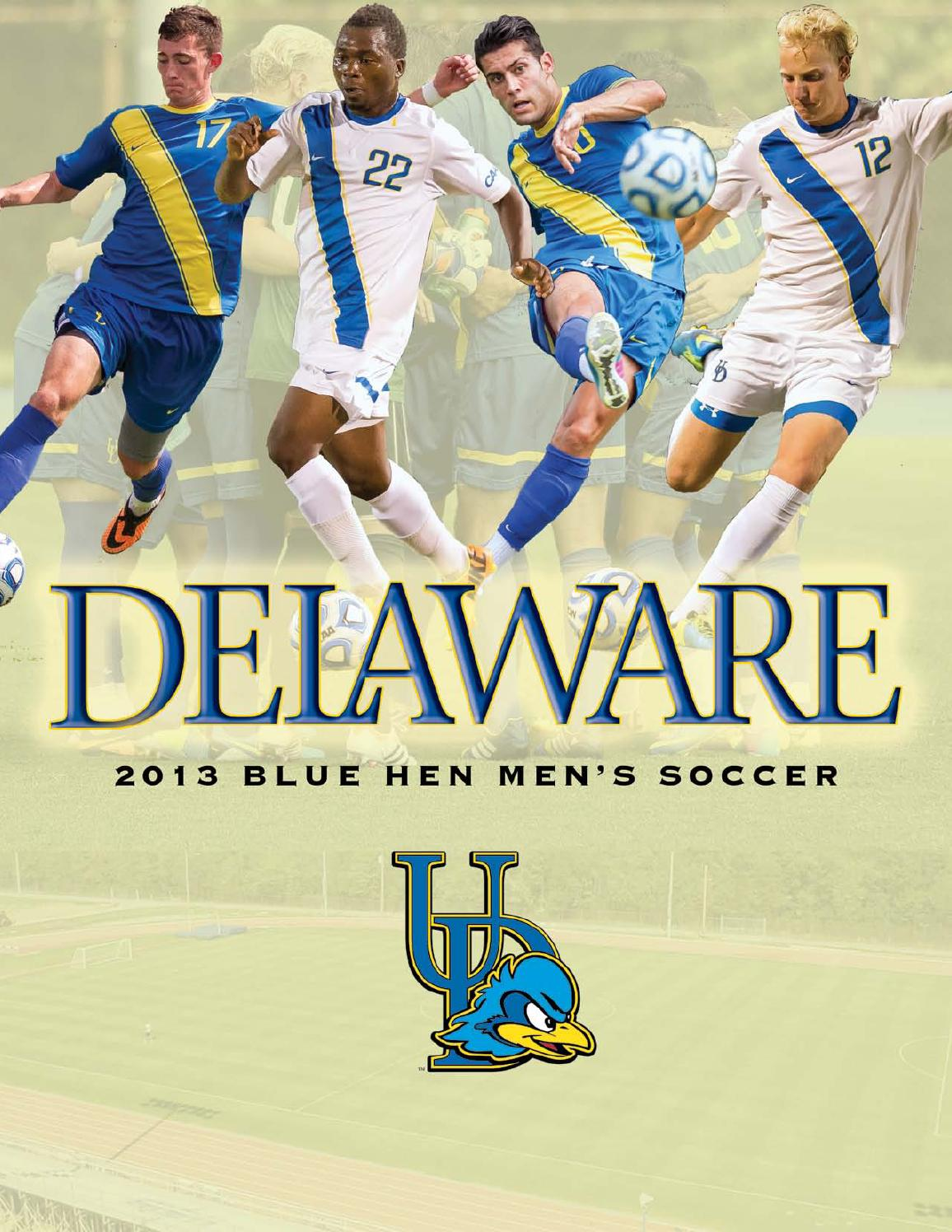2013 Men's Soccer Media Guide by UDBlueHens Delaware - issuu